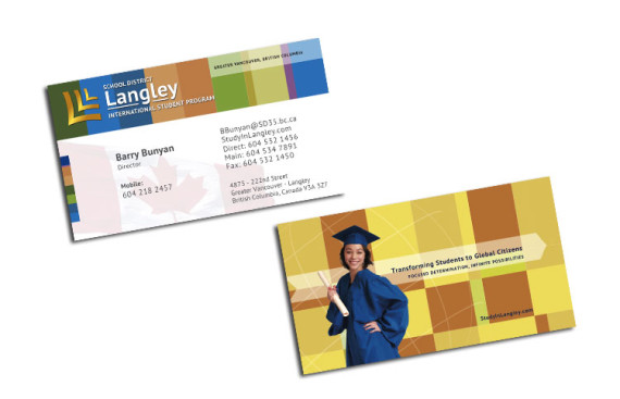 Langley SD35 - ISP: Business Cards