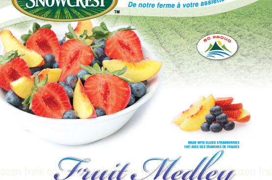 Snowcrest Foods: Fruit Medley