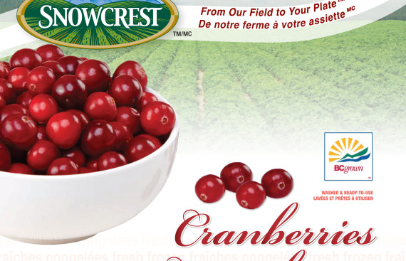 Snowcrest Foods: Cranberries