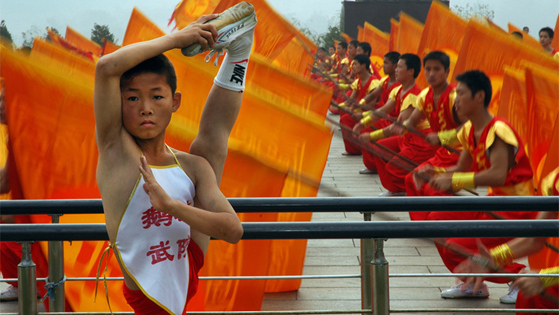 Honour - Shaolin Temple, Beijing, China